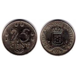 (11) Antillas Neerlandesas. 1978. 25 Cents (EBC)