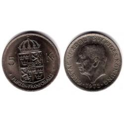 (846) Noruega. 1972. 5 Kronor (SC)