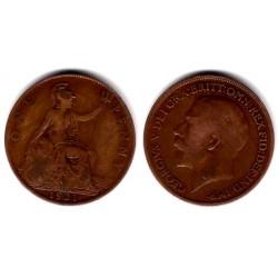 (810) Gran Bretaña. 1921. 1 Penny (BC)