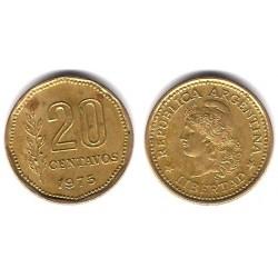 (67) Argentina. 1975. 20 Centavos (MBC)