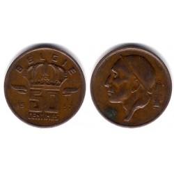(149.1) Bélgica. 1957. 50 Centimes (MBC-)