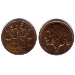 (149.1) Bélgica. 1958. 50 Centimes (MBC-)