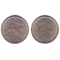(408) Noruega. 1968. 50 Ore (MBC-)
