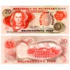 (155a) Filipinas. 1970. 20 Piso (SC)