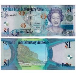 (38c) Islas Caimán. 2010. 1 Dollar (SC)
