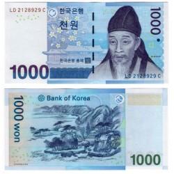 (54) Corea del Sur. 2007. 1000 Won (SC)