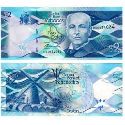 (73) Barbados. 2013. 2 Dollars (SC)