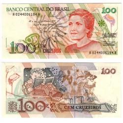 (228) Brasil. 1990. 100 Cruzeiros (SC)