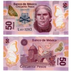 (123AaB) Estados Unidos Mexicanos. 2012. 50 Pesos (MBC)