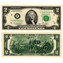 Estados Unidos de América. 2013. 2 Dollars (SC)