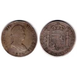 Fernando VII. 1816. 8 Reales (MBC) (Plata) Ceca de Mejico JJ