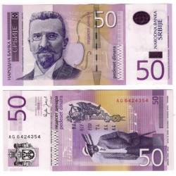 (40) Serbia. 2005. 50 Dinara (SC)
