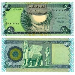 (98A) Iraq. 2018. 500 Dinars (SC)