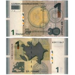 (31a) Azerbaiyán. 2009. 1 Manat (SC)