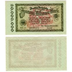 Alemania. Baviera. 1923. 20 Millionen Mark (SC)