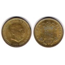 Estado Español. 1953*(19-56). 1 Peseta (EBC+/SC-)