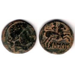 Bolscan (Huesca). 180 - 20 a.C. As (BC+/MBC-)