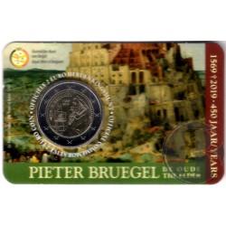 Bélgica. 2019. 2 Euro (SC) Pieter Bruegel
