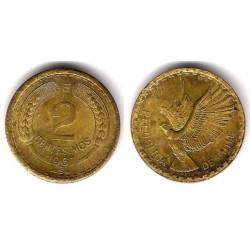(193) Chile. 1967. 2 Centesimos (EBC)