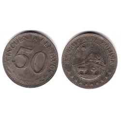 (190) Bolivia. 1967. 50 Centavos (MBC)
