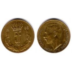 (60.1) Luxemburgo. 1986. 5 Francs (MBC)