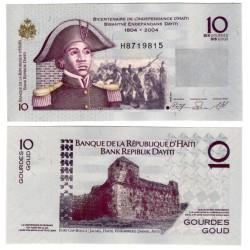 (272a) Haití. 2004. 10 Gourdes (SC)