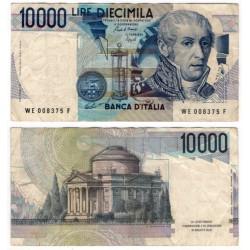 (112b) Italia. 1984. 10000 Lira (BC+) Pequeña rotura margen dcho
