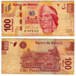 (124bF) Estados Unidos Mexicanos. 2009. 100 Pesos (BC)