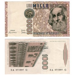 (106a) Italia. 1982. 1000 Lira (EBC+)