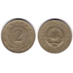 (57) Yugoslavia. 1971. 2 Dinara (MBC)