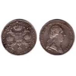 (32) Países Bajos Austríacos. 1783. Thaler (MBC) (Plata)