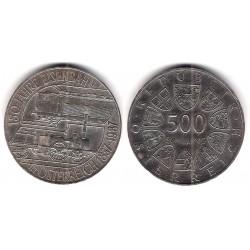 (2981) Austria. 1987. 500 Schilling (SC) (Plata)