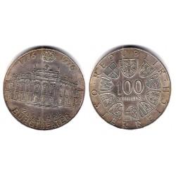 (2930) Austria. 1976. 100 Schilling (EBC) (Plata)