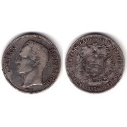 (Y24.2) Venezuela. 1936. 5 Bolivares (BC) (Plata)