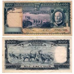 (98) Angola. 1970. 1000 Escudos (EBC)