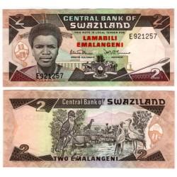 (13a) Suazilandia. 1987. 2 Emalangeni (SC)
