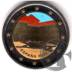 España. 2011. 2 Euro (SC) Coloreada