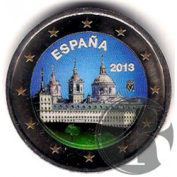 España. 2013. 2 Euro (SC) Coloreada