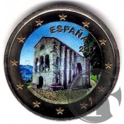España. 2017. 2 Euro (SC) Coloreada