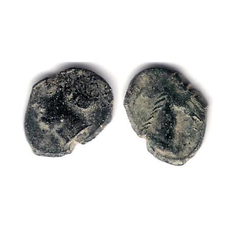 Cartagonova. 220-205 a.C. Cuarto de Calco (BC)