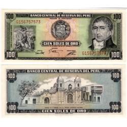 (108) Perú. 1975. 100 Soles de Oro (EBC+)