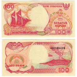 (127e) Indonesia. 1992/96. 100 Rupiah (SC-)