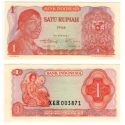 (102a) Indonesia. 1968. 1 Rupiah (SC)
