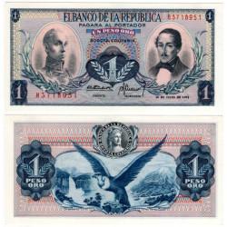 (404e) Colombia. 1972. 1 Peso de Oro (SC)