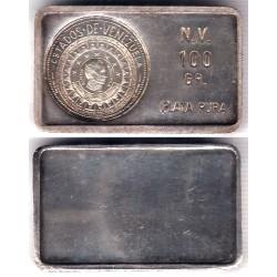 Lingote de 100 Gramos (Plata)