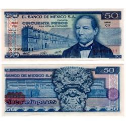 (65b) Estados Unidos Mexicanos. 1976. 50 Pesos (EBC)