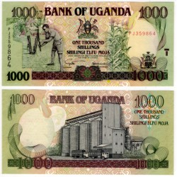 (39A) Uganda. 2003. 1000 Shillings (SC)
