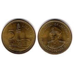 (17) Lesoto. 1979. 5 Lisente (EBC+)