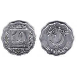 (53) Pakistán. 1993. 10 Paisa (EBC)