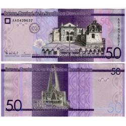 (189a) República Dominicana. 2014. 50 Pesos (SC)